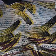Old Cotton Batik Fabric