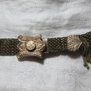 Victorian Gold Filled Slide Bracelet