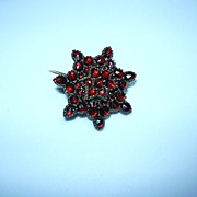 Victorian Garnet Pin Fine Jewelry