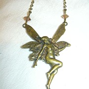 Fairy Pendant Necklace