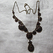 Rich Garnet Necklace