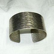 Old Napier Sterling Silver Cuff Bracelet
