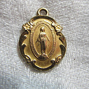 Mary Miraculous Medal Chapel Gold Filled