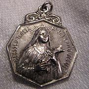 St Teresa Lisieux Old Medal