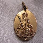Jesus Sacred Heart Medal Scapular