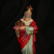 Nativity Large King or Wise Man Old Japan Christmas Statue or Figurine