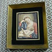 Madonna & Child Virgin Mary & Jesus Print