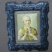 Religious Art Catholic Pope Embossed Print