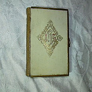 1872 Book Of Common Prayer Celluloid Cover