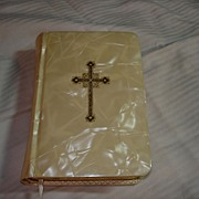 SOLD My Bridal Book 1956 Prayer Book Pearlized Cover