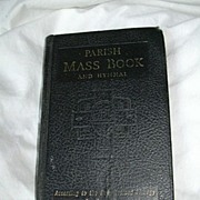 Parish Mass Book & Hymnal St Joseph Edition 1965 Catholic Prayer