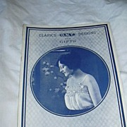 Clark's O N T Designs For Gifts Book No 10 Frances Harris 1920 Needlework ...