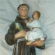 St Anthony Infant Jesus Statue Fine Catholic Christian Religious Figurine