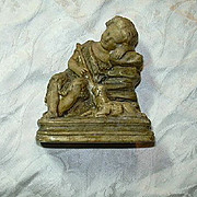 St John The Baptist Pipe Clay Sculpture Statue