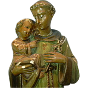 St Anthony Infant Jesus Old Statue