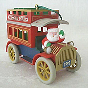 SALE Hallmark Ornament 1992 Kringle Tours