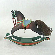 SALE Hallmark Ornament 1994 Rocking Horse