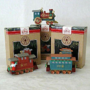 SALE Hallmark Ornament Claus Co. Railroad