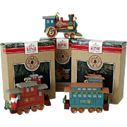 SALE Hallmark Ornament Claus Co. Railroad