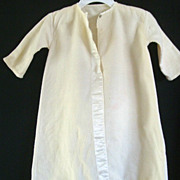 SALE 1940's Infant Flannel Sleeper