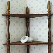 SOLD Light Weight Corner Shelf Dated Early 1960's - Red Tag Sale Item
