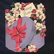 Dated 1951 Norcross Easter Greeting Card