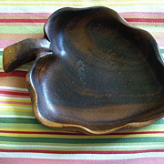 SALE Hawaiian Monkey Pod Small Leaf Bowl