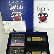 SALE Disney's 1991 Fantasia Commemorative Edition - Boxed Set