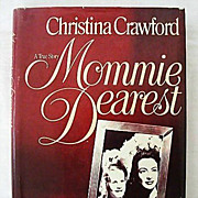 SALE Mommie Dearest Book Club Edition - 1979