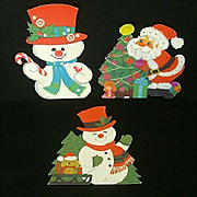 SALE Hallmark Christmas Picture or Window Cards