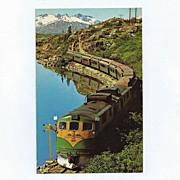 SALE Original White Pass & Yukon Railway Postcard