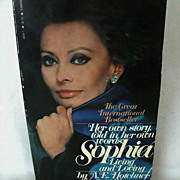 SALE Glamorous Sophia Loren: Living and Loving - 1979