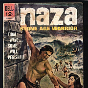 Naza Stone Age Warrior Comic Book 1964  No. 4