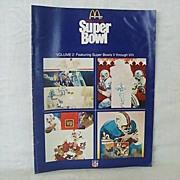 SALE McDonald's History of the Super Bowl (V thru VIII)