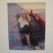 SALE Kim Carnes Vintage Poster
