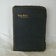 SALE Illustrated Holy Bible Presented 1927