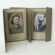 SALE Matching Cardboard Tri-fold Studio Picture Frames