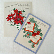 Christmas Wishes For Mother 1940's