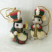 Two Little Mice Bring Cheer For Your Holiday