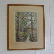 SALE William Savery Bucklin Large Framed Print