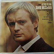 SALE David McCallum Conducts His First Album - A Part of Me
