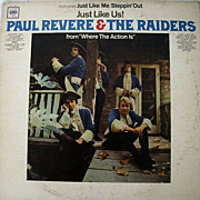 SALE Paul Revere & The Raiders Just Like Us 1966