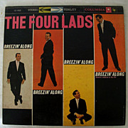 SALE Four Lads Original 1958 Recording With Columbia 6-Eye Label