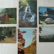 SALE Smoky Mountain National Park Postcard Collection