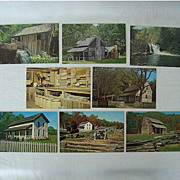 SALE Smoky Mountain Cades Cove Postcard Collection