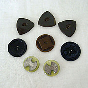 SALE Deco Style Buttons Matched Pairs & Singles