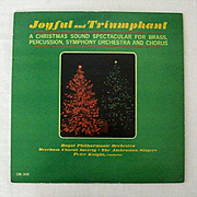 SALE Joyful And Triumphant - 18 Christmas Carols