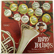 SALE Happy Holidays 1962 RCA LP Recording