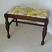 SALE Early 19th Century Sheraton Vanity Bench