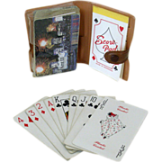 Kent Cigarette Playing Cards with Case
